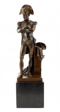 Bronze casting - Napoleon Bonaparte - with signature