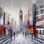 Empire State Building / New York - Oil on canvas - signed by Martin Klein