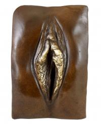 Erotic Relief - Vagina - signed by M. Nick