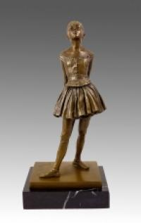 The Little Fourteen-Year-Old Dancer - Bronze Figure - Edgar Degas